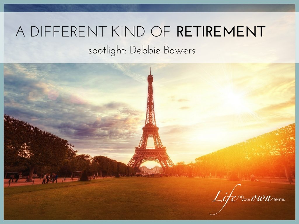 A Different Kind of Retirement: Spotlight Debbie Bowers