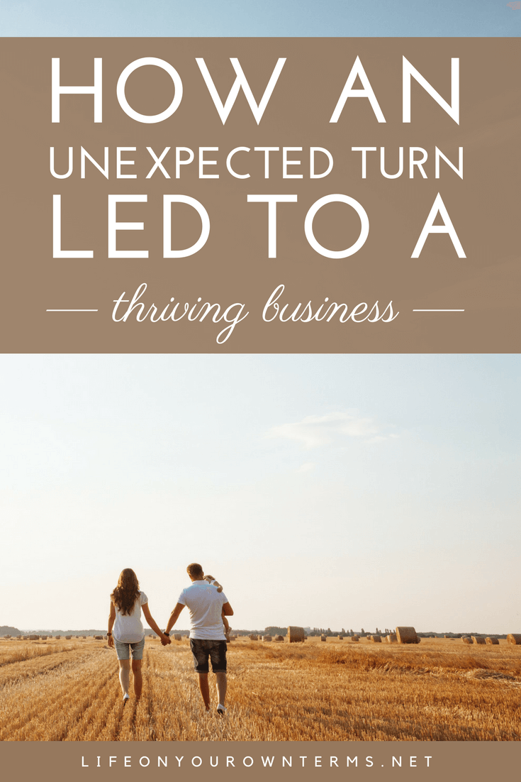 Unexpected Turn Leads to Thriving Business